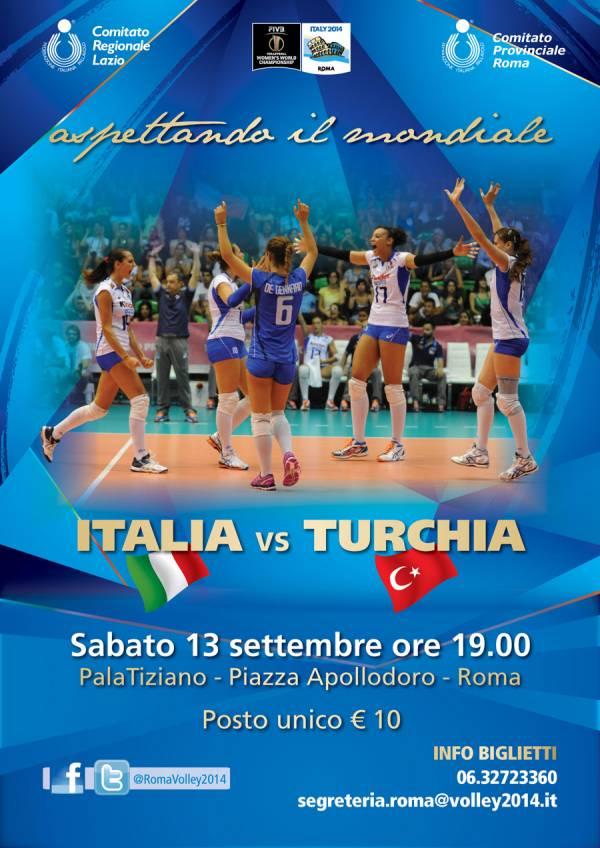 Italia Turchia Volley