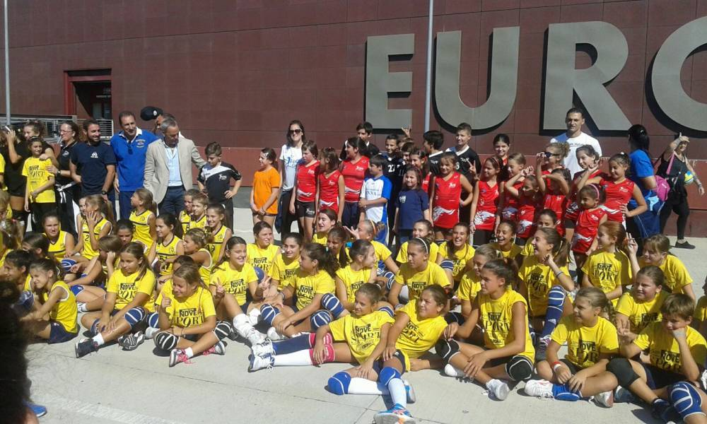 Minivolley a Euroma 2